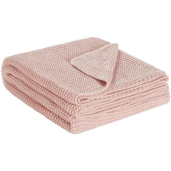 HOME STORY Strick Plaid  Svea ¦ rosa/pink ¦ 80% Polyacryl, 20% Baumwolle, Baumwolle, Polyacryl