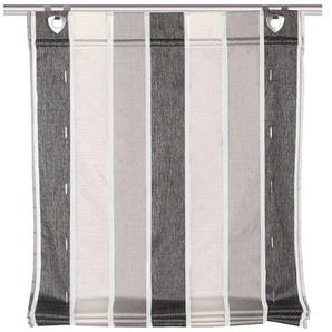 Home Wohnideen Raffrollo »Losana«, halbtransparent, Stoppertechnik, inklusive Fensterhaken,