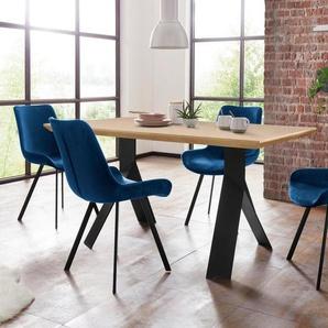 Homexperts Essgruppe »Rose-Bridge«, Tisch - Breite 160 cm + 4 Stühle