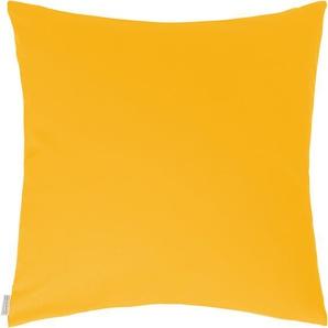 Homing Kissenhülle »Jonas«, 50x50 cm, gelb, blickdichter Stoff