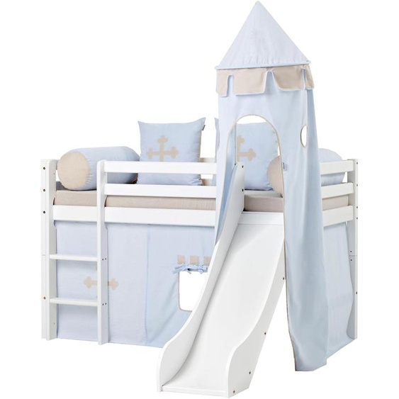 Hoppekids Bettturm Fairytale Knight L: 115 cm blau Kinder Kinderzimmerdekoration Kindermöbel