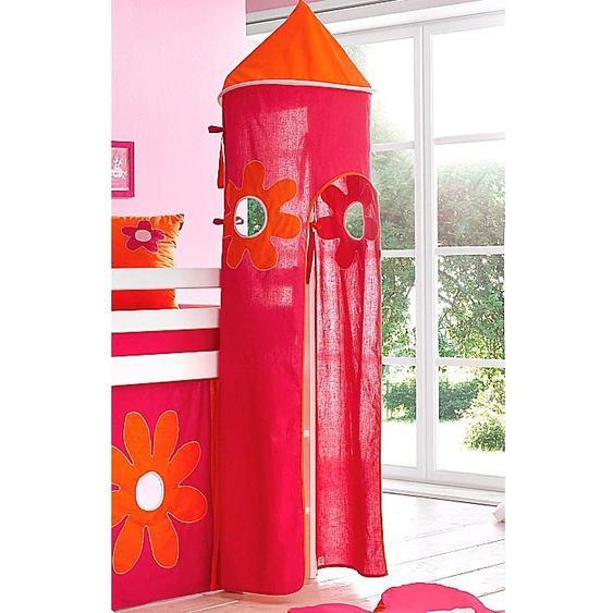Hoppekids Bettturm Flowerpower L: 115 cm bunt Kinder Kinderzimmerdekoration Kindermöbel