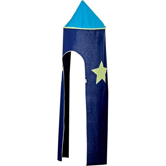 Hoppekids Bettturm My Room / 115 cm blau Kinder Kinderzimmerdekoration Kindermöbel Spieltunnel