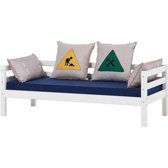 Hoppekids Funktionsbett Construction Liegefläche B/L: 70 cm x 160 cm, Gewicht H3, Schaumstoffmatratze weiß Kinder Kinderbetten Kindermöbel