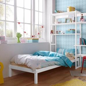 Hoppekids Jugendzimmer-Set Skagen, (Set, 13 St.), inkl. Bett und Schreibtisch Set 2 mit Liegefläche 90x200 cm, B/H: 90 cm x 200 weiß Regalsysteme Büroregale Büromöbel