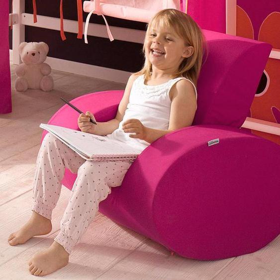 Hoppekids Sessel Einheitsgröße rosa Kinder Kinderzimmerdekoration Kindermöbel