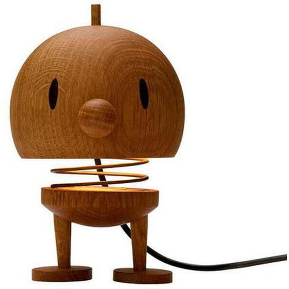 Hoptimist Lampe Large Bumble Tischlampe Figur Dekoration Eiche H 15.5