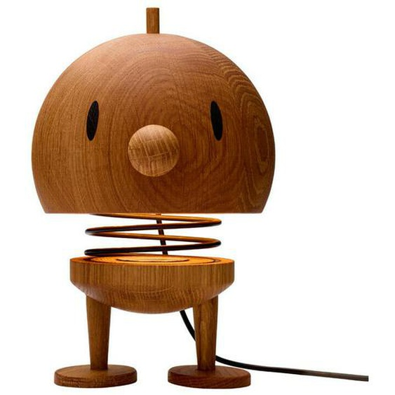 Hoptimist Lampe X-large Bumble Tischlampe Figur Dekoration Eiche H 23
