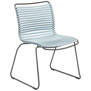 Houe - Click Dining Stuhl - dusty light blue - outdoor