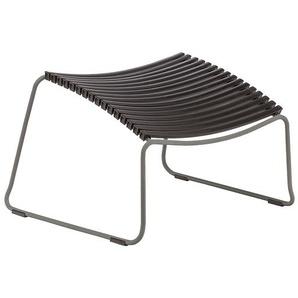 Houe - Click Footrest Hocker schräg - black - outdoor