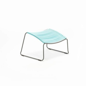 Houe - Click Footrest Hocker schräg - mint - outdoor