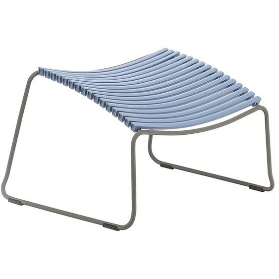 Houe - Click Footrest Hocker schräg - pigeon blue - outdoor