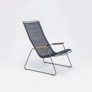 Houe - Click Lounge Stuhl - dunkelblau 91 - outdoor