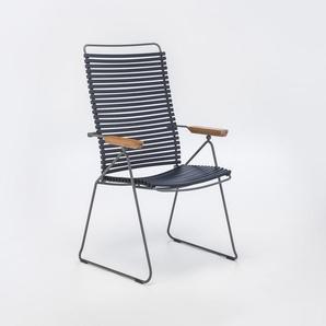 Houe - Click Position Stuhl - dunkelblau 91 - outdoor