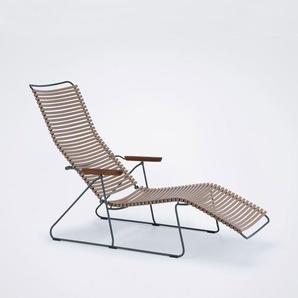 Houe - Click Sunlounger Liegestuhl - beige 62 - outdoor