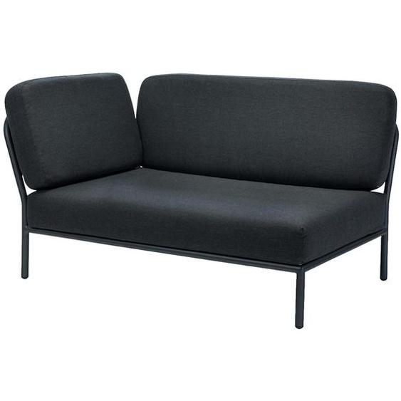 Houe - Level Lounge Sofa - Coal Grey - Armlehne links - Coal grey - outdoor