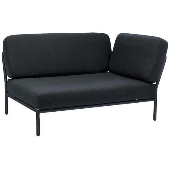Houe - Level Lounge Sofa - Coal Grey - Armlehne rechts - Coal grey - outdoor