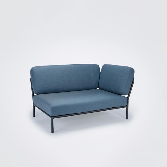 Houe - Level Lounge Sofa - Dusty Blue - Armlehne rechts - Dusty blue - outdoor