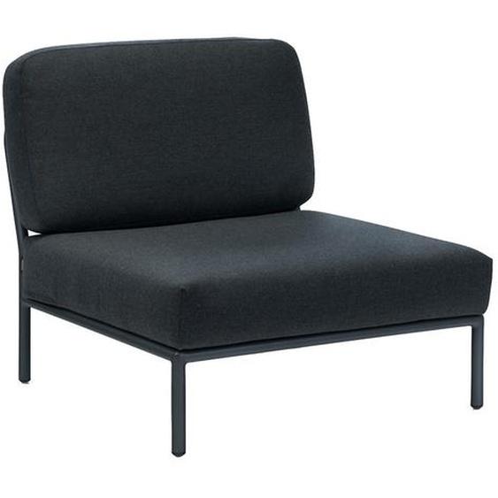 Houe - Level Lounge Stuhl - Coal grey - outdoor