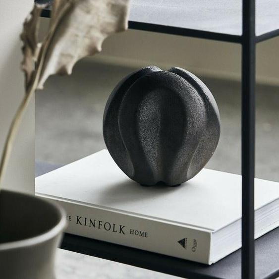 House Doctor Sling Kugel Rund Ball Schwarz Skulptur Objekt Deko