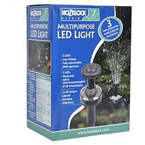 Hozelock Tricoflex 3086 1240 LED Teichbeleuchtung Schwarz 18,5 x 13 x 9,5 cm