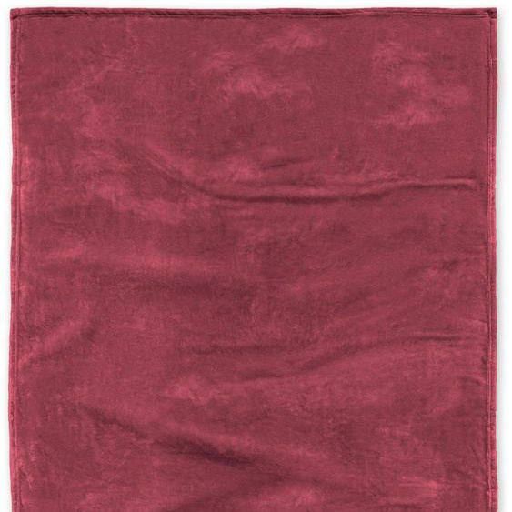 Hucke Berlin Wohndecke »Michi«, 150x200 cm, rot