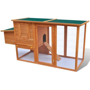 Hühnerhaus mit Rampe