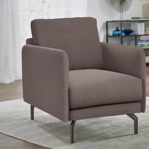 hülsta sofa Sessel »hs.450«, wahlweise in Stoff oder Leder, mit schmaler Armlehne