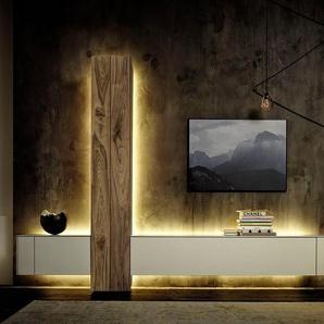 hülsta Wohnzimmer-Set »GENTIS«, (Set, 3-St), inklusive Beleuchtung, inklusive Liefer- und Montageservice durch hülsta Monteure