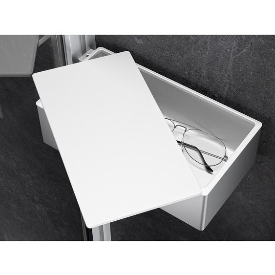 Hüppe Drybox Select+ Wandmontage Silber Matt