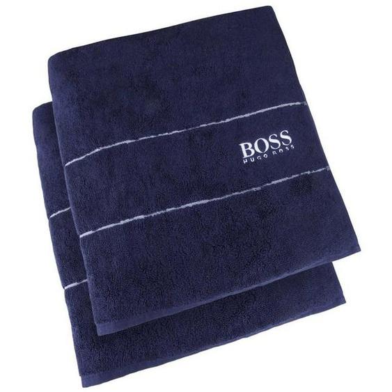 Hugo Boss Home Handtuch »PLAIN 2-tlg.« (2-St), 100 x 50 cm