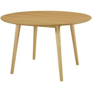 Hugo - Esstisch rund, Eichenfurnier, Ø120 cm