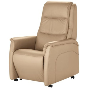 Hukla Fernsehsessel   Dean - beige - 70 cm - 109 cm - 88 cm | Möbel Kraft