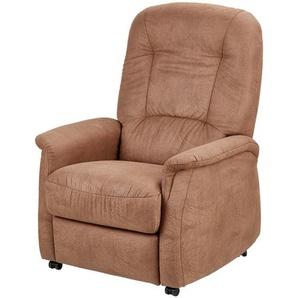 Hukla Fernsehsessel mit Funktion  Leonardo ¦ braun Polstermöbel  Sessel  Polstersessel » Höffner