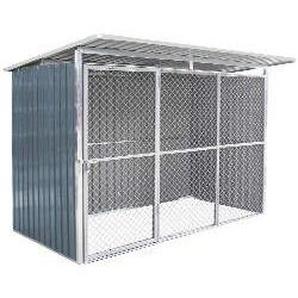 Hundezwinger aus Metall 4 m²