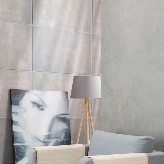 IBENA Armlehnenschoner Fano, mit modernen Streifen (2 Stück) B/L: 50 cm x 70 beige Sofaüberwürfe Hussen Überwürfe