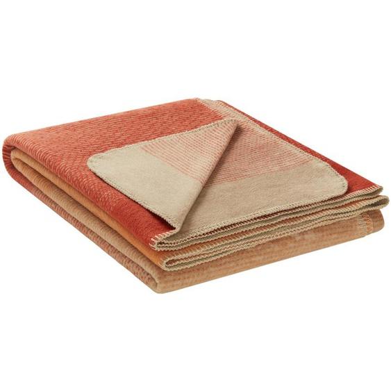 IBENA Jacquard-Decke   Toronto ¦ braun ¦ 58% Baumwolle, 35% Polyacryl, 7% Polyester