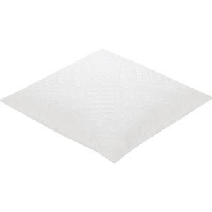 Ibena Kissenbezüge »Ibena«, 2x 50x50 cm, waschbar, weiß