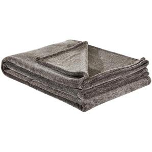 IBENA Kuscheldecke | braun | 100 % Polyester | 160 cm | Möbel Kraft