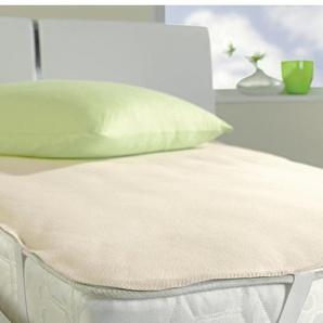 Ibena Matratzenauflage »Pure 5514«, 140x210-220 cm, weiß
