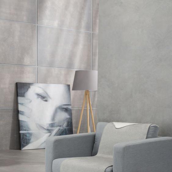 IBENA Sesselschoner Dublin, mit Wendeseite B/L: 50 cm x 200 grau Hussen Überwürfe