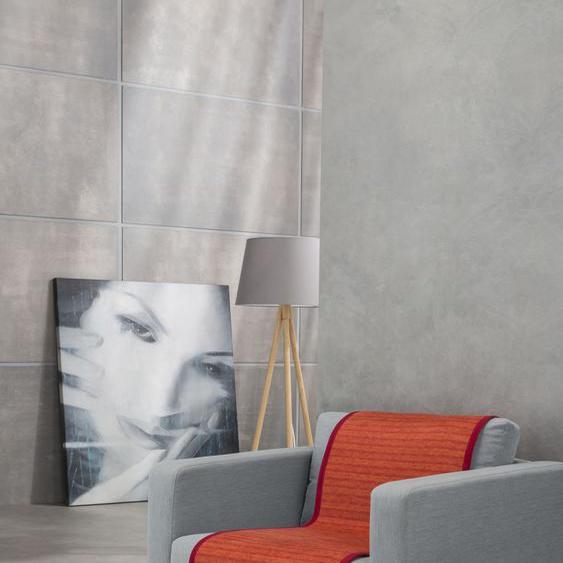 IBENA Sesselschoner Fano, mit modernen Streifen B/L: 050 cm x 200 rot Hussen Überwürfe