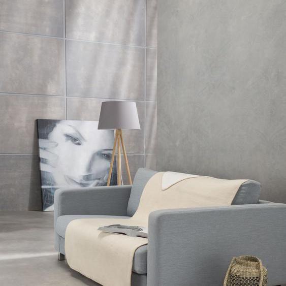 IBENA Sofaschoner Dublin, mit Wendeseite B/L: 100 cm x 200 beige Sofaüberwürfe Hussen Überwürfe