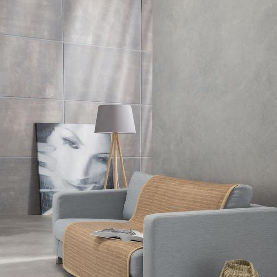 IBENA Sofaschoner Fano, mit modernen Streifen B/L: 100 cm x 200 braun Sofaüberwürfe Hussen Überwürfe