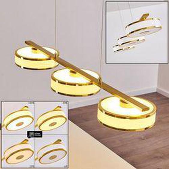 Icogne Pendelleuchte LED Gold, 3-flammig - Klassisch/Vintage/Loft - Innenbereich - versandfertig innerhalb von 2-4 Werktagen