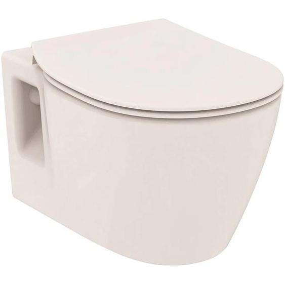 Ideal Standard Tiefspül-WC ProSys mit Connect WC, WC-Element, WC-Sitz und 2-Mengen-Spülung Einheitsgröße weiß WC-Becken WC Bad Sanitär