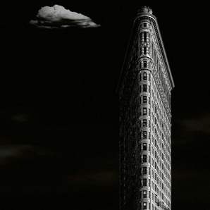 IDEALDECOR Fototapete »Iron Building New York«, BlueBack, 4 Bahnen, 368 x 254 cm