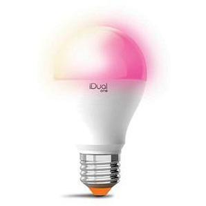 iDual LED-Lampe one E27 9,5 W matt