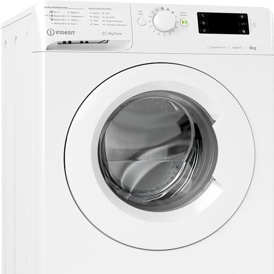 Indesit Waschmaschine MTWE 61483E W DE, 6 kg, 1400 U/min, Energieeffizienz: D