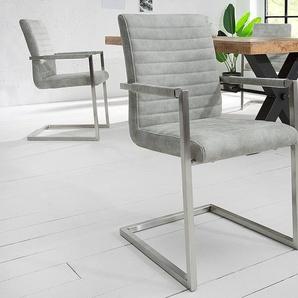 freischwinger aus mikrofaser preisvergleich moebel 24. Black Bedroom Furniture Sets. Home Design Ideas